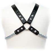 ARNÊS LEATHER BODY - CHAIN HARNESS II